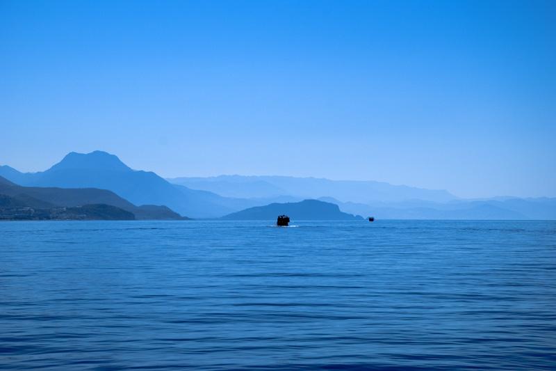 ein Tag auf dem Mittelmeer