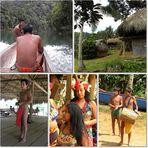 Ein Tag bei und mit den Embera am Rio Chagre