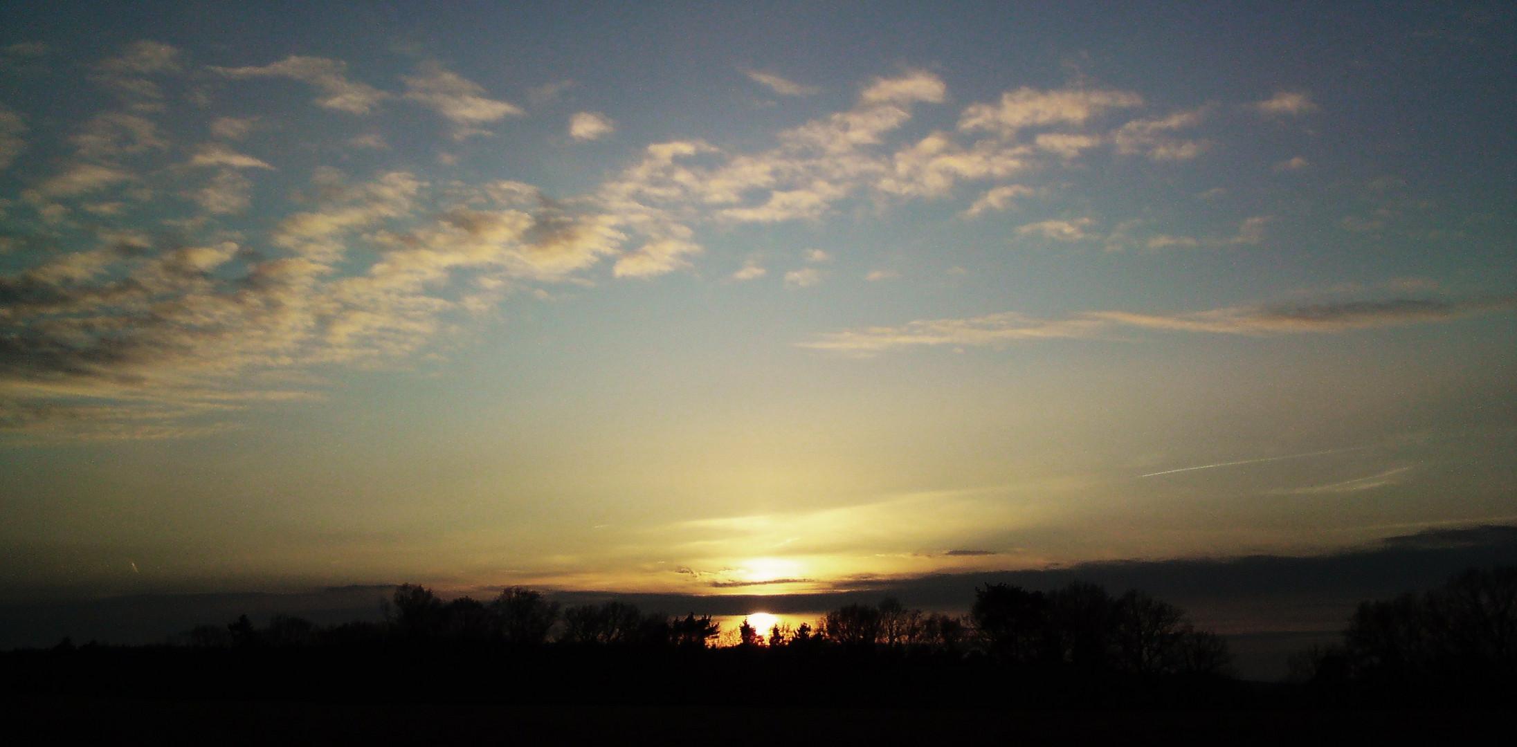Ein Tag geht zur Neige..das Licht geht zur Ruh'