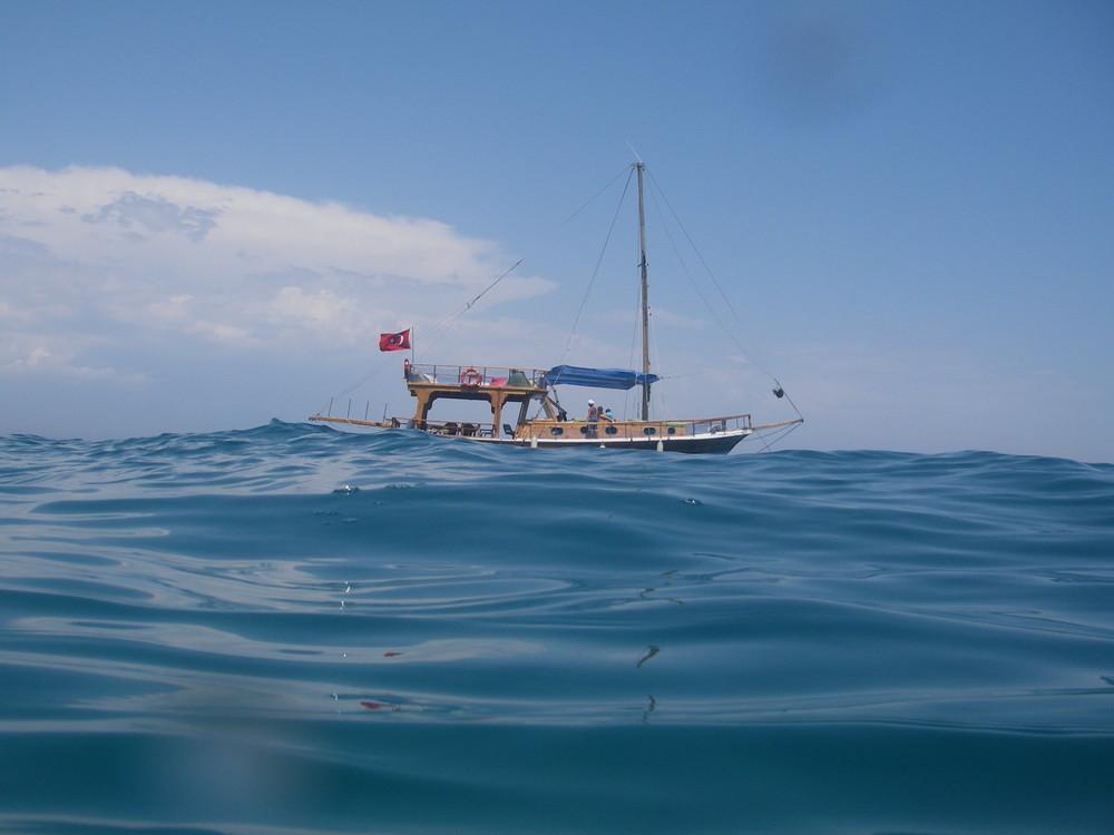 Ein Tag im Meer