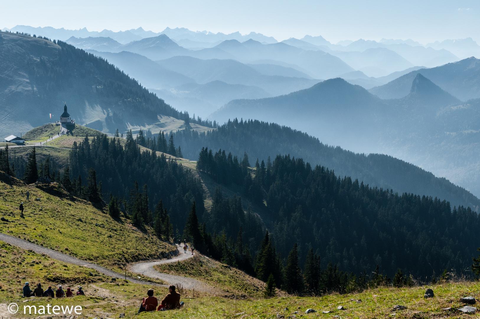 Ein Tag in den Bergen