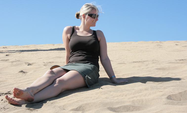 Ein Tag in den Dünen