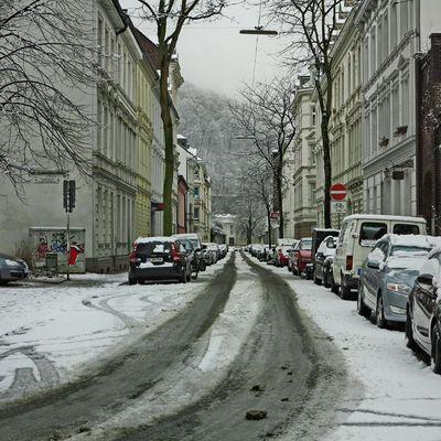 Ein Tag Winter