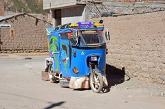 Ein Taxi in Chivay