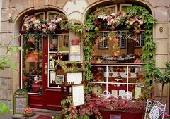 Ein Teeladen in Strassbourg