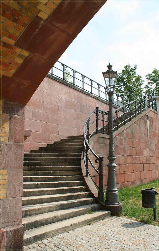 ein Teil der Moltke-Brücke