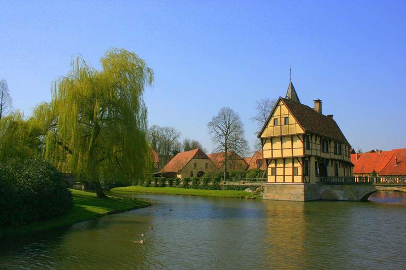 Ein Teil vom Schloss Burgsteinfurt