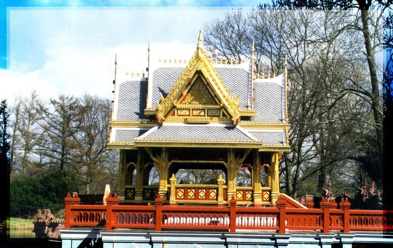 Ein Tempel in Hamburg