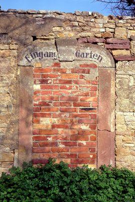 Ein Tor aus der DDR