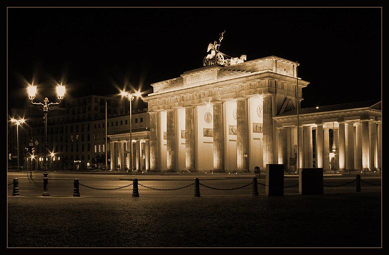 Ein Tor in Berlin