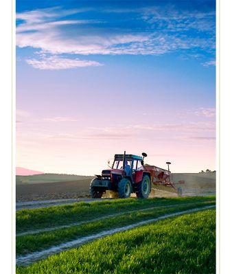 Ein Traktor...