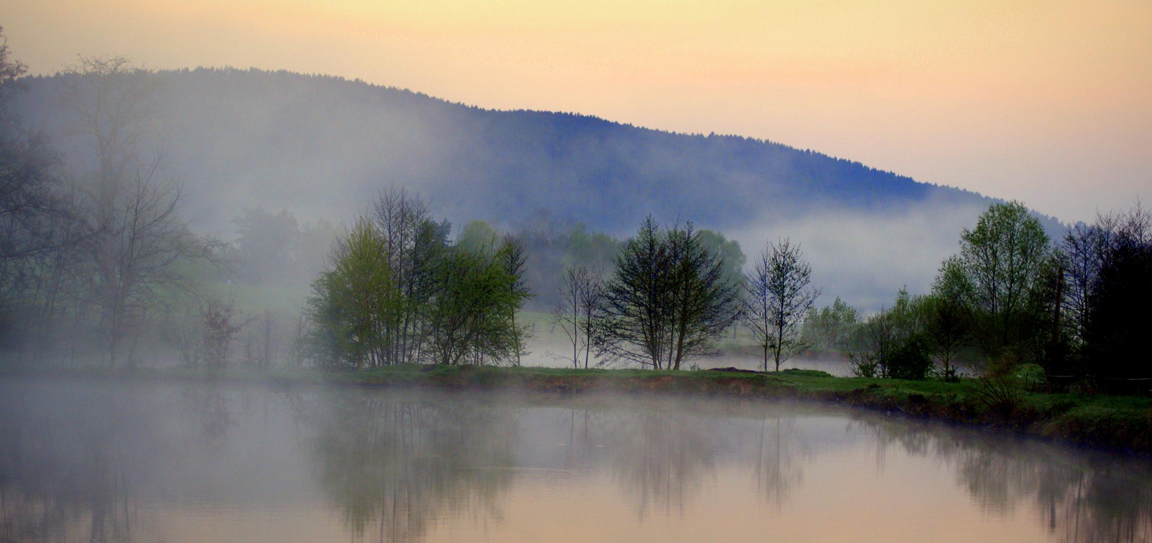 Ein Traum in hauchzartem Farben am Morgen