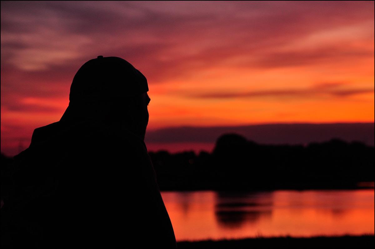 ein traumhafter Sonnenuntergang...
