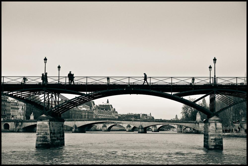 Ein trister Wintertag in Paris [1]