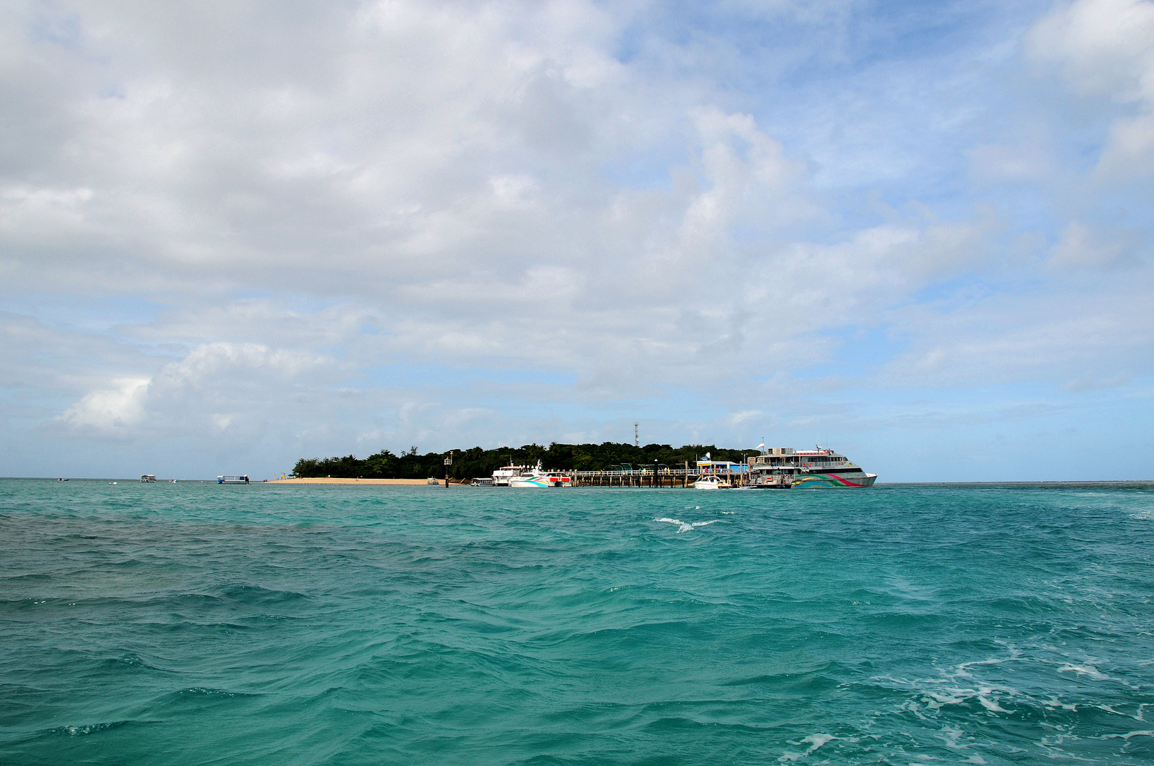 ein tropisches Inselparadies