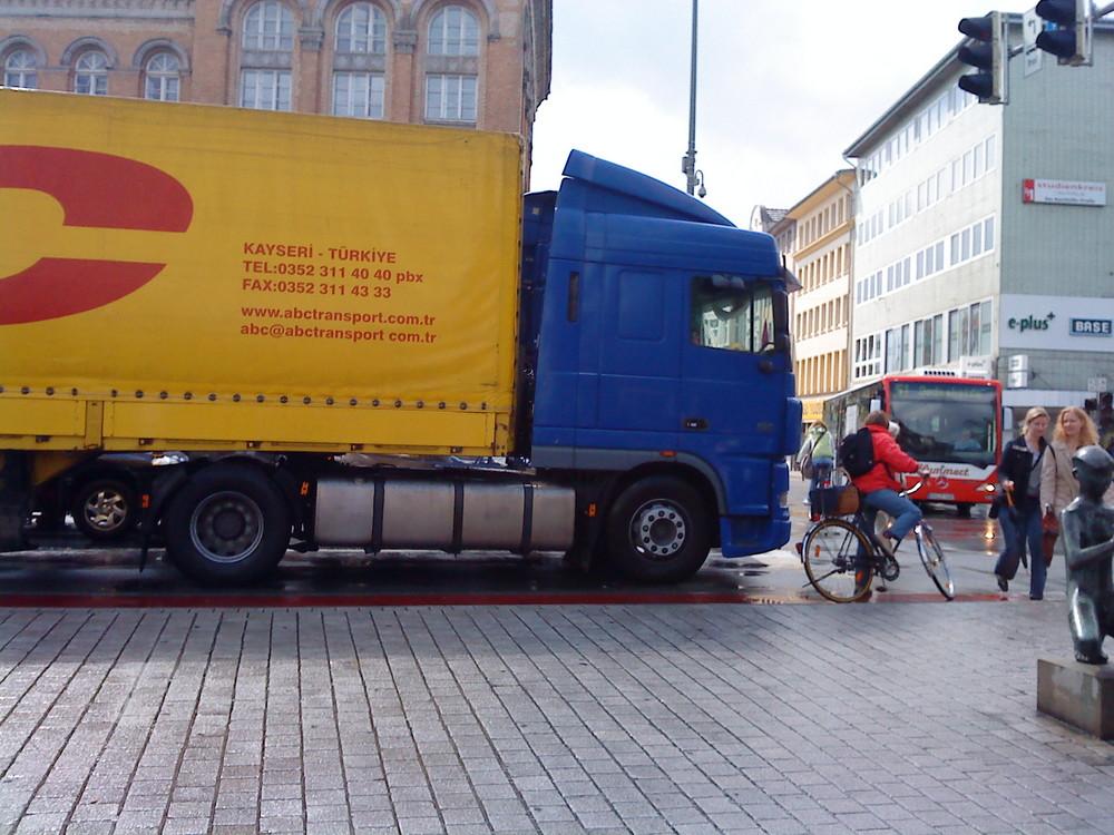 Ein türkischer Laster auf Deutschland Straßen...