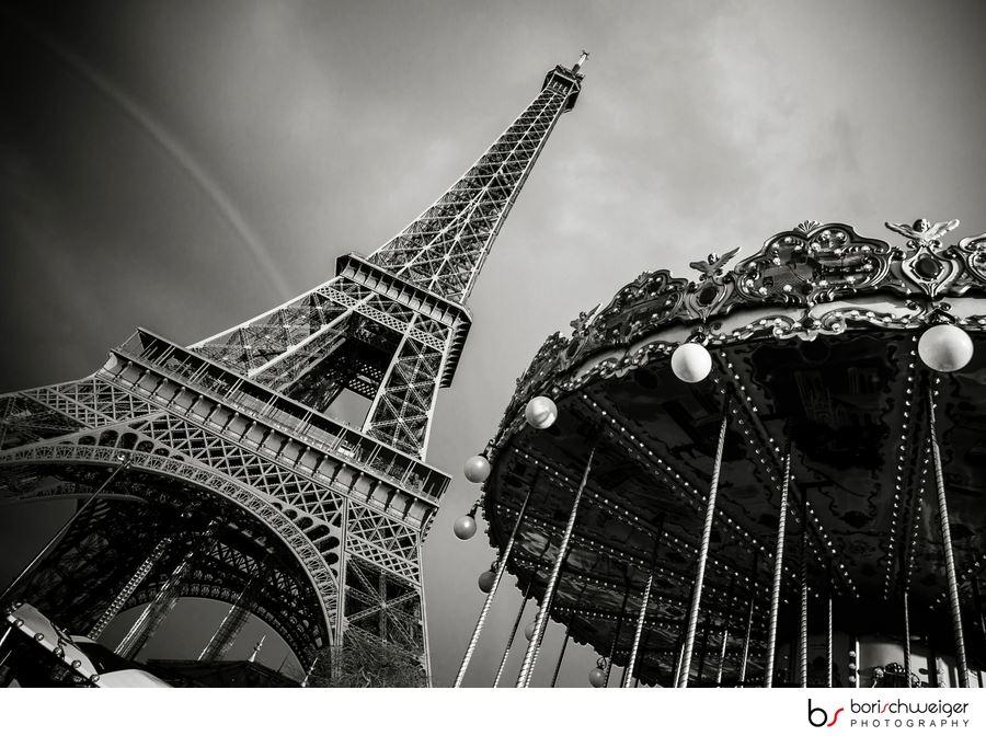 Ein Turm, ein Karusell & ein Regenbogen...