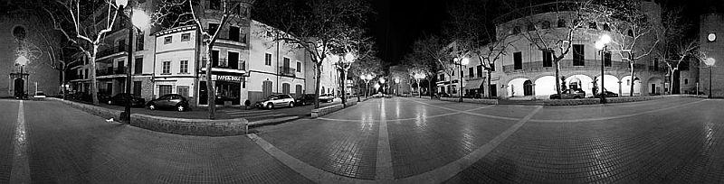 Ein typischer Mallorca-Marktplatz...