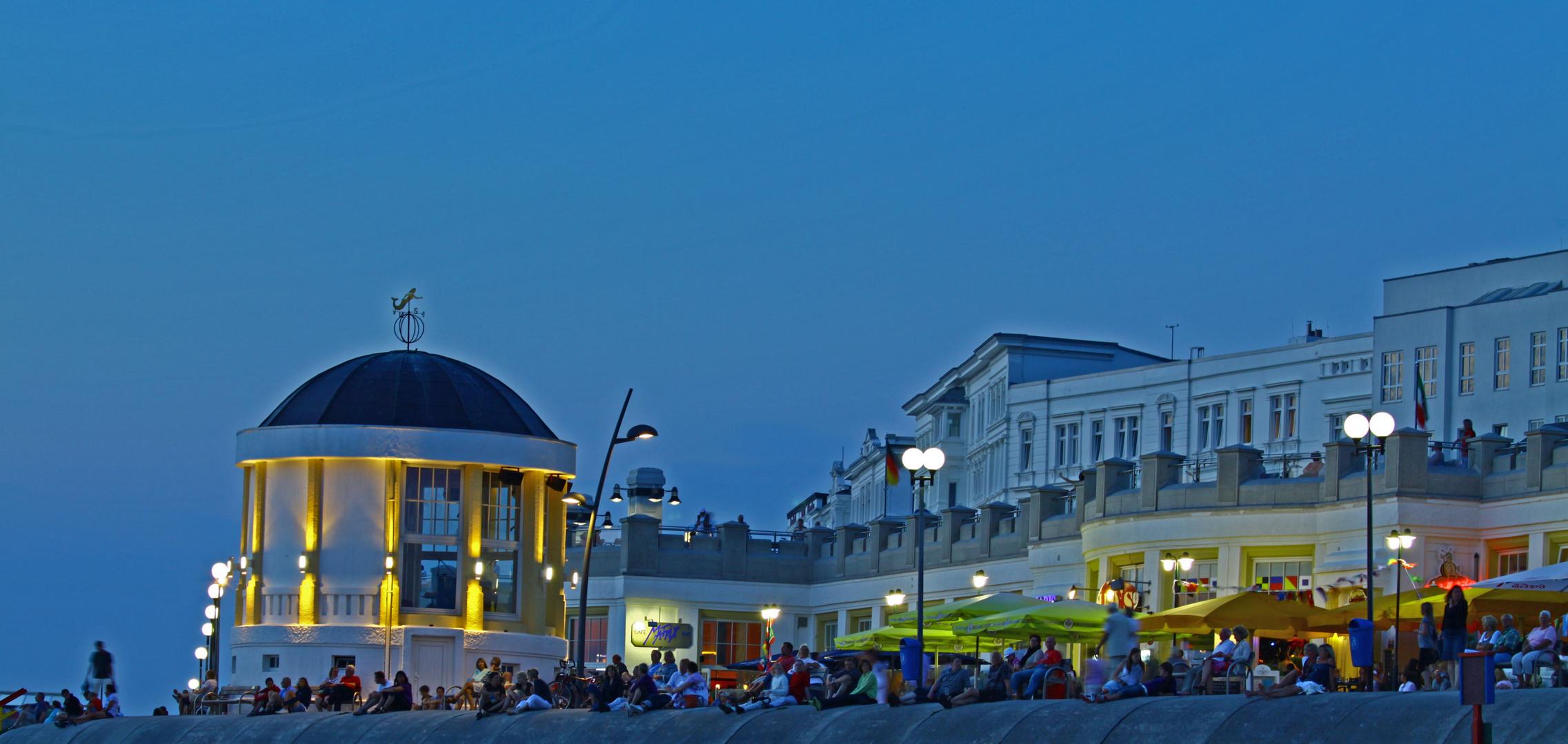 Ein typischer Sommerabend auf Borkum