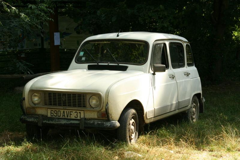 Ein typisches französisches Auto