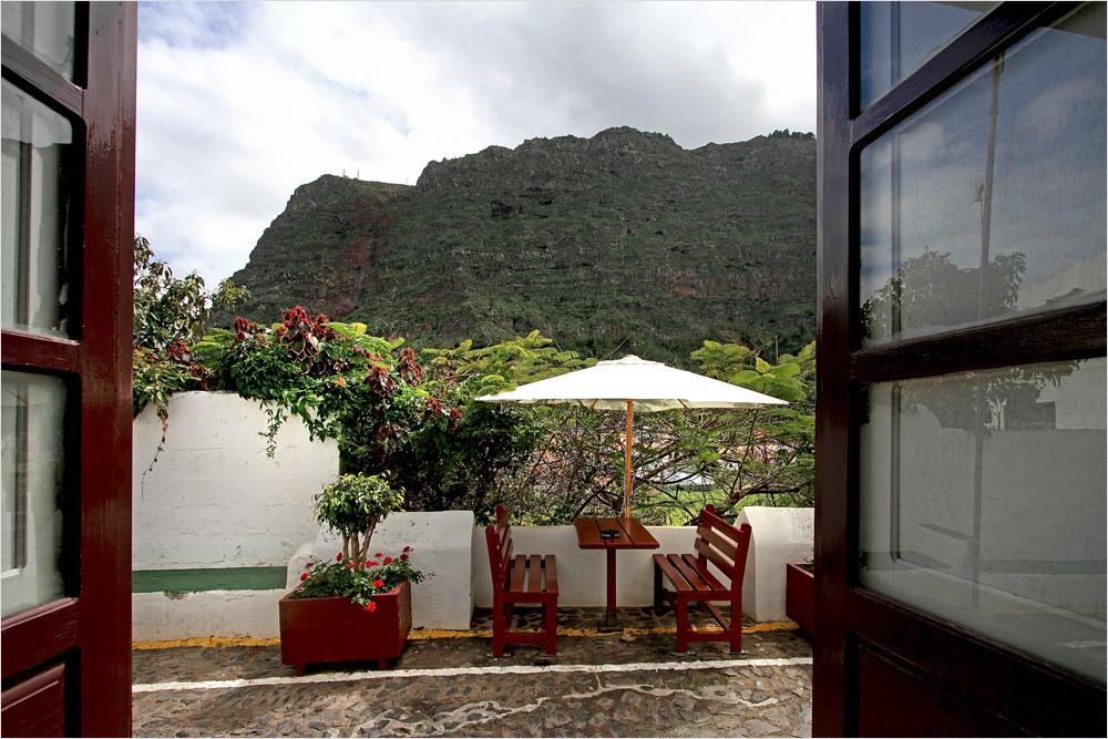 ein typisches Restaurant in La Gomera