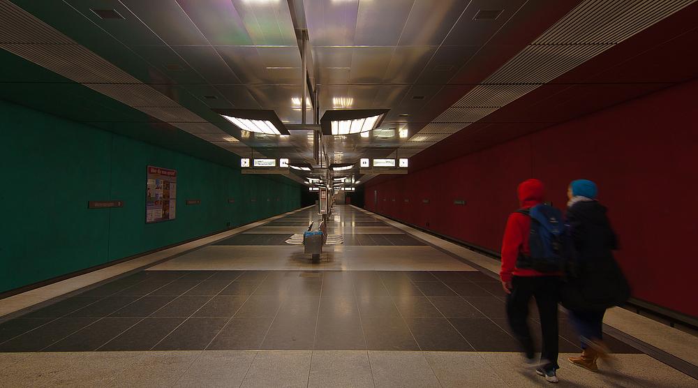 Ein U-Bahn Buidl