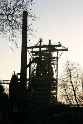 Ein Überbleibsel von der Henrichshütte in Hattingen
