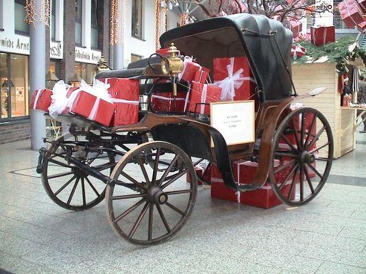 Ein Überbleibsel von Weihnachten vor 100 Jahren