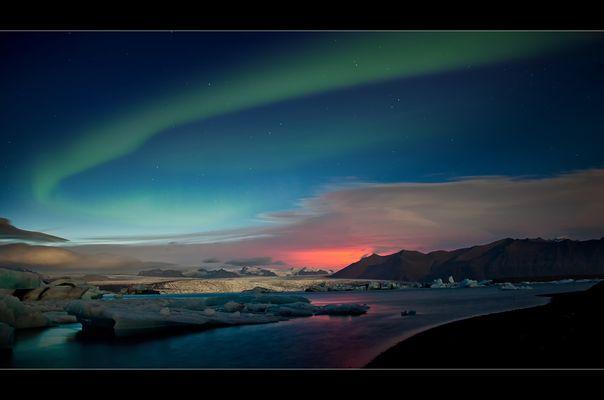 Ein unglaubliches Farbenspiel auf Island