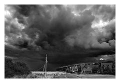 Ein Unwetter zieht auf...