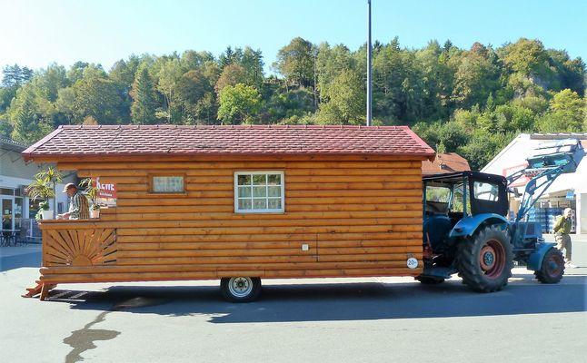 Ein uriger Wohnwagen