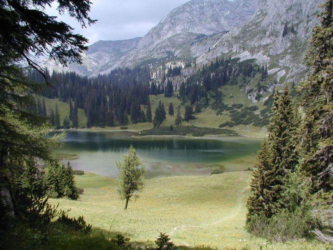 Ein verträumter See