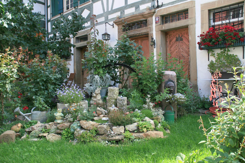 verwunschene garten anlegen – rekem, Garten Ideen