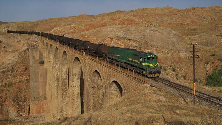 Ein Viadukt in der Wüste ...