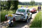 Ein VW mit Anhänger