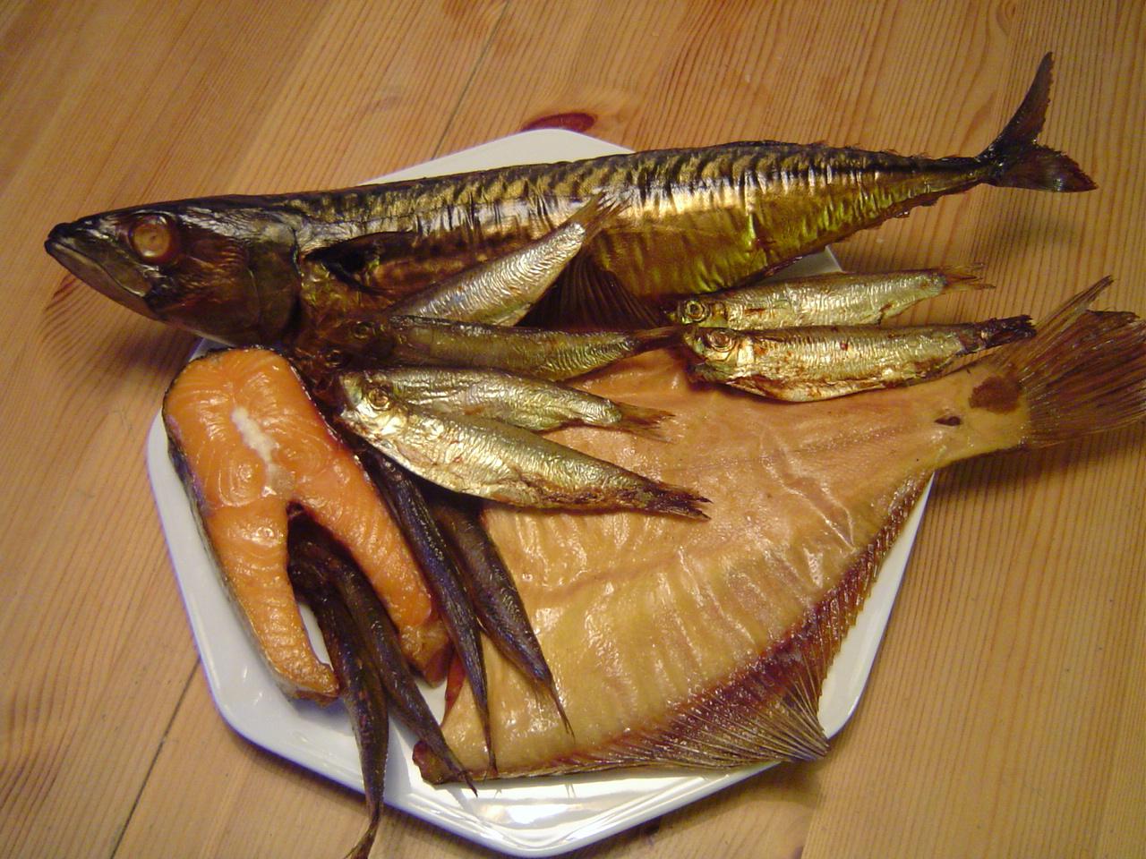 (ein wahrer) Fischteller