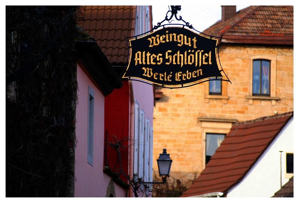 Ein Weindorf in der Pfalz