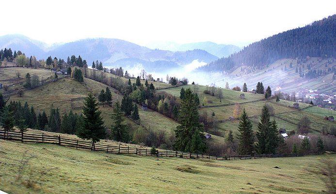 Ein weiter Blick auf die Ostkarpaten 1