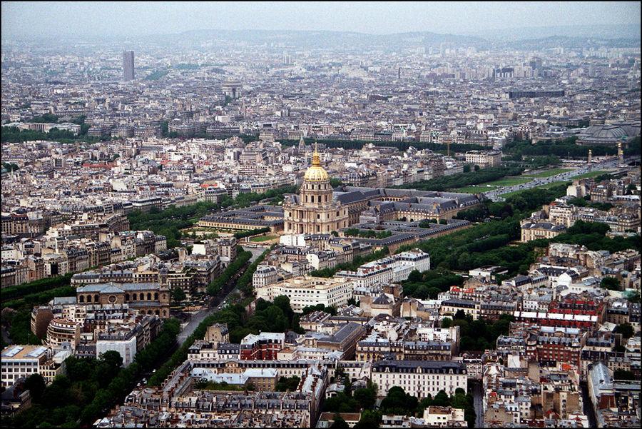 ... ein weiterer Blick über Paris