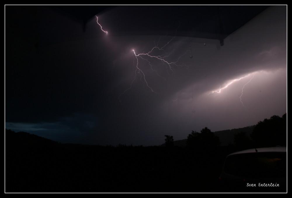 EIn weiterer Blitz