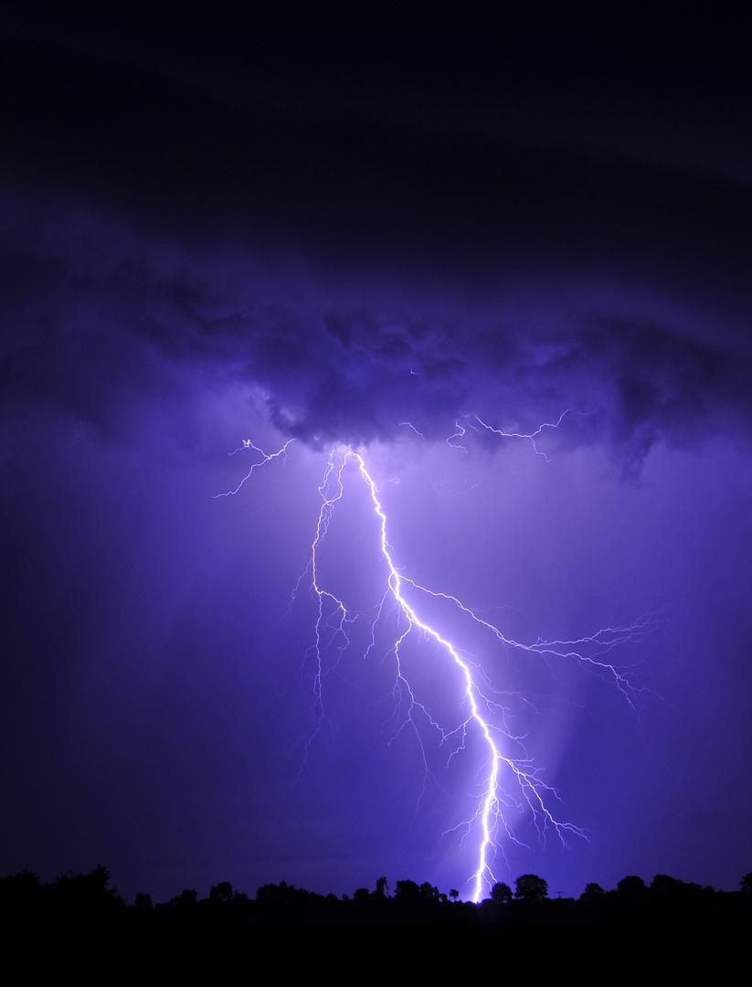 Ein weiterer Blitz aus der Serie