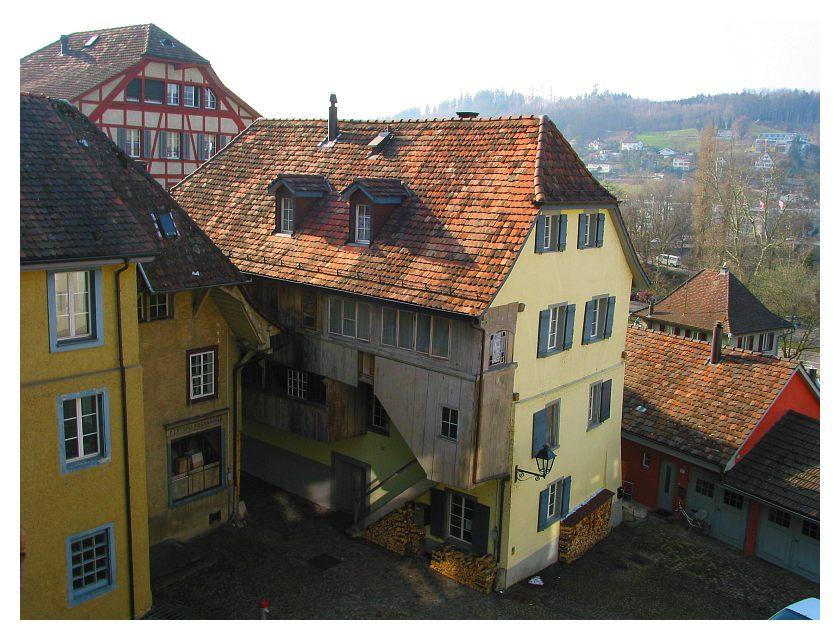 Ein weiterer Innenhof in Aarau