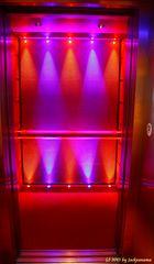 Ein weiteres Erlenis auf der AIDAblu ... der Aufzug