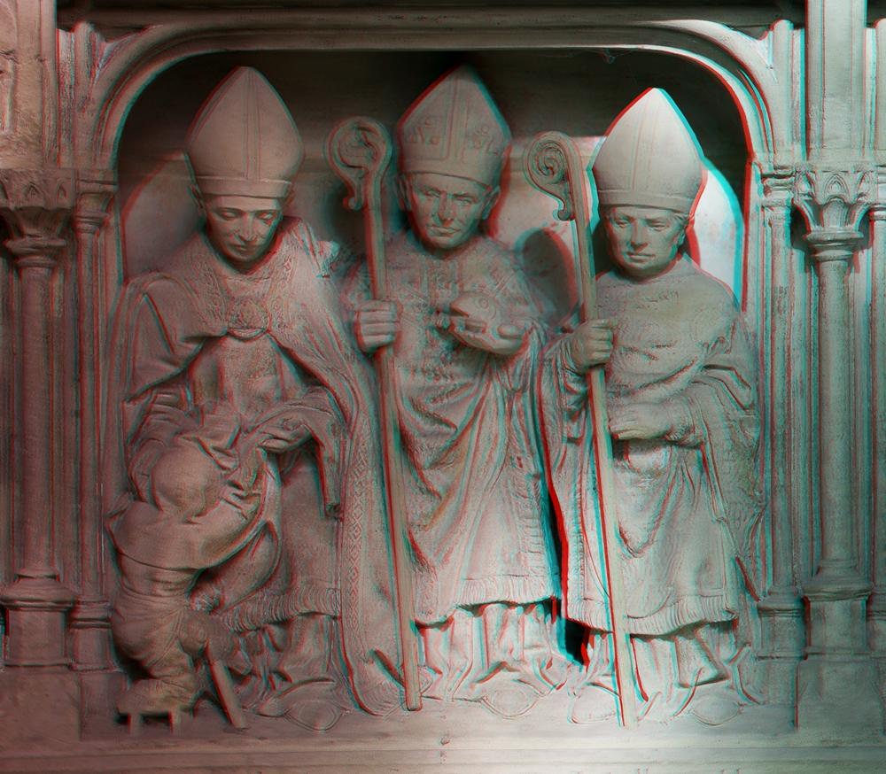 Ein weiteres Relief im Paulus Dom zu Münster