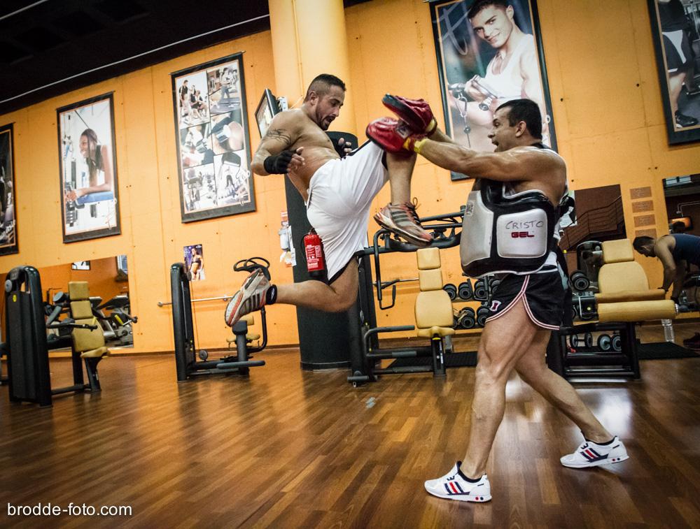 Ein Weltmeister beim Training (2)