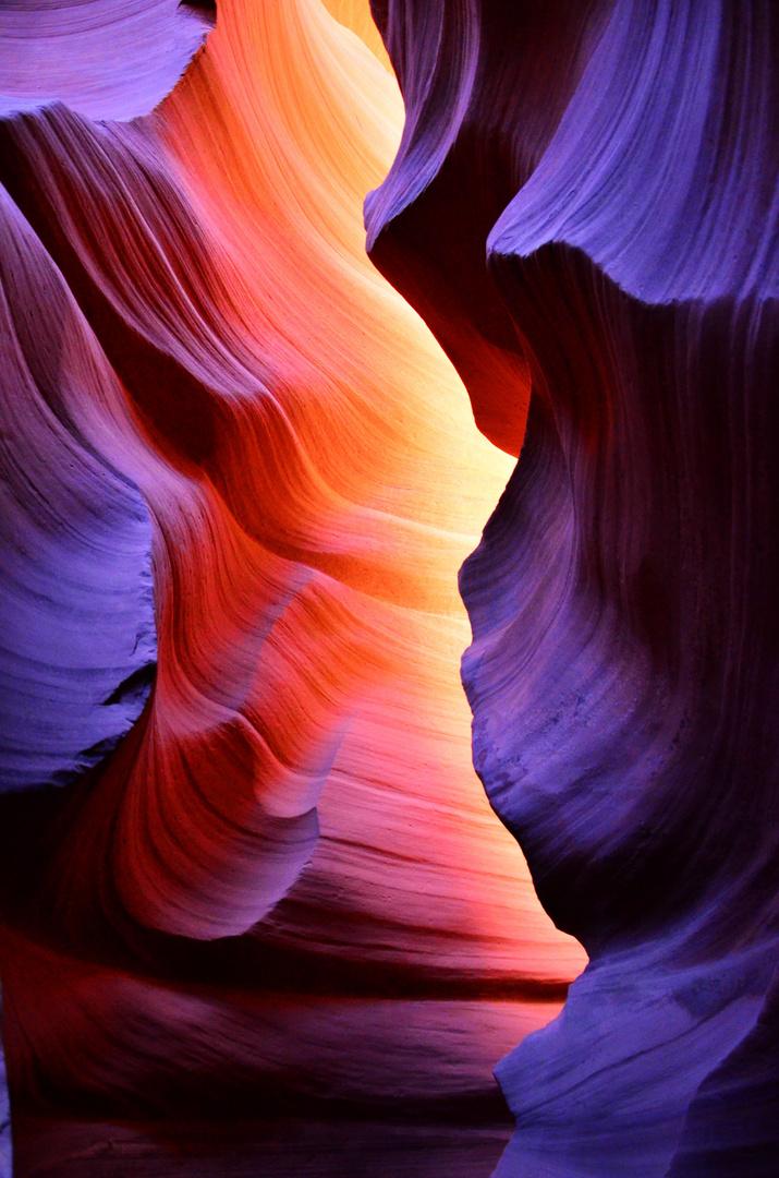 ein wenig Antelope Canyon