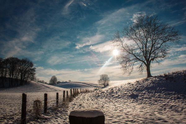 Ein wenig winterlich heute