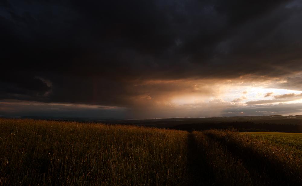ein Wetter kommt...