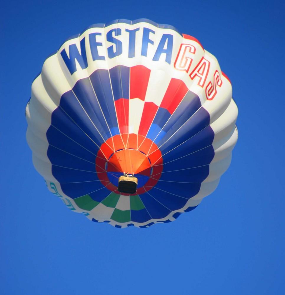 Ein Wetter zum Ballonfahren