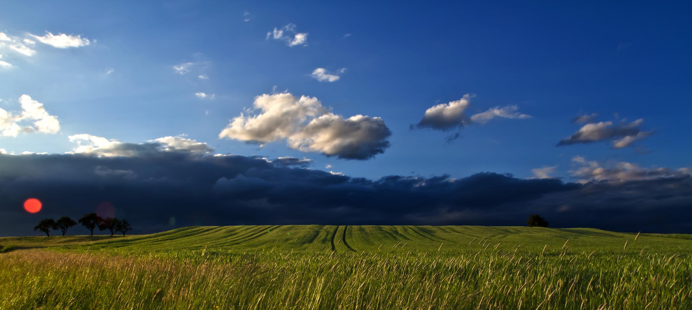 Ein Wetterumschwung bahnt sich an